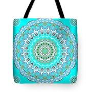 My Blue Heaven Mandala Tote Bag