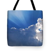 My Blue Heaven Tote Bag
