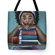 Her Books  Tote Bag