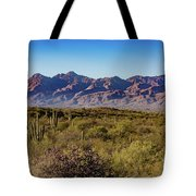 My Catalina Mountains Tote Bag