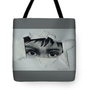 My Child's Eyes Tote Bag