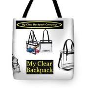 My Clear Backpack Tote Bag