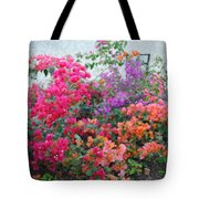 My Colorful Bouganville Tote Bag