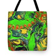 My Colorful Past Tote Bag