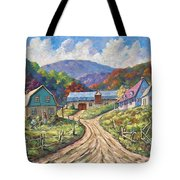 My Country My Village Tote Bag