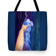 My Cup Runneth Over Tote Bag by Nancy Cupp