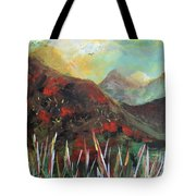 My Days In The Mountains Tote Bag