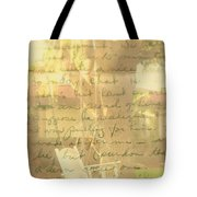 My Dear John Tote Bag