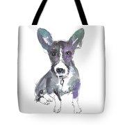 My Dog Ultra Violet Tote Bag