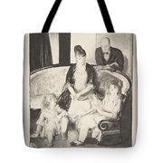 My Family, Second Stone George Bellows  Tote Bag