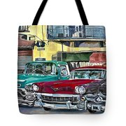 My Fathers' Cars Tote Bag