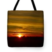 My First 2016 Sunset Photo Tote Bag