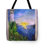 My First Light House Tote Bag