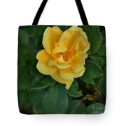My First Yellow Rose Tote Bag