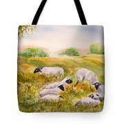 My Flock Of Sheep Tote Bag