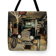 My Garage Too Tote Bag by Randy Sylvia