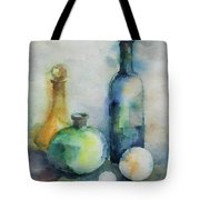 My Glass Collection V Tote Bag