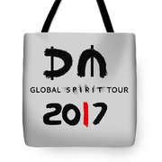 My Global Spirit Tour 2017 - Black Tote Bag