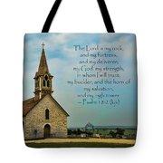 My God My Strength My Salvation Tote Bag