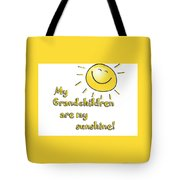 My Grand Children Tote Bag