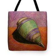 My Green Trompo Tote Bag