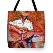 My Guitar Tote Bag