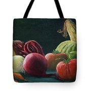 My Harvest Vegetables Tote Bag