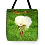 My Heart Baby Ostrich  Tote Bag