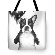 My Heart Goes Boom Tote Bag by Balazs Solti