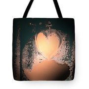 My Heart Is On The Moon Tote Bag