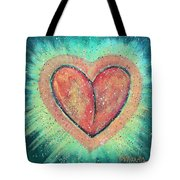 My Heart Loves You Tote Bag