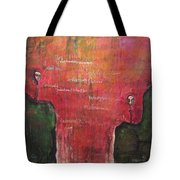 My Hill Painting Tote Bag