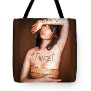 My Invisible Tattoos - Self Portrait Tote Bag by Jaeda DeWalt