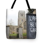 My Kind Of Church Tote Bag