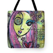 My Love For You Blooms Tote Bag