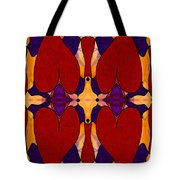 My Love Is Alive Abstract Bliss Art By Omashte Tote Bag