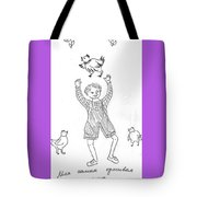 My Lovely Hen. Tote Bag