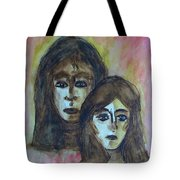 My Mother -- My Self Tote Bag