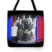 My Mother And Her Family Virginia Minnesota Circa 1919 Tote Bag