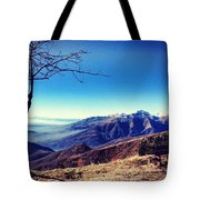 My Mountains  Tote Bag