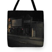 My Neighborhood At Night Tote Bag