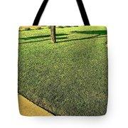 My Neighbor's Yard Tote Bag