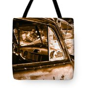 My Old Chevy Truck Tote Bag