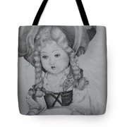 My Old Doll Tote Bag