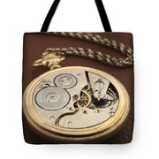 My Old Pocket Watch Tote Bag