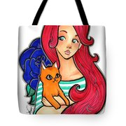 My Orange Cat Tote Bag