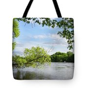 My Place By The River Tote Bag