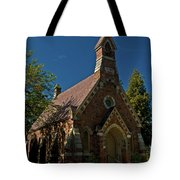 My Redeemer Lives Church Tote Bag