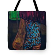 My Ride Home After The Dance Tote Bag by Frances Marino