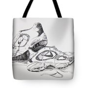 My Running Shoes Tote Bag